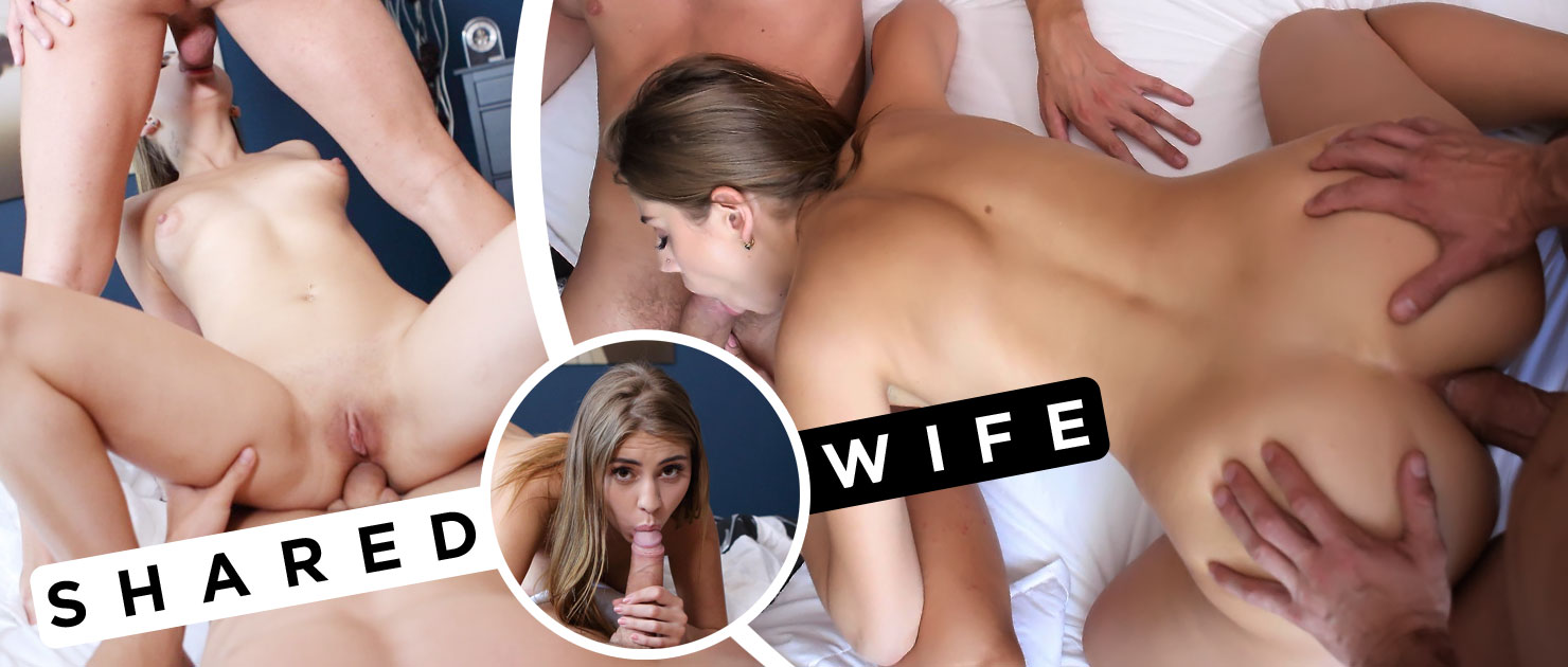 Big journey from solo to threesome