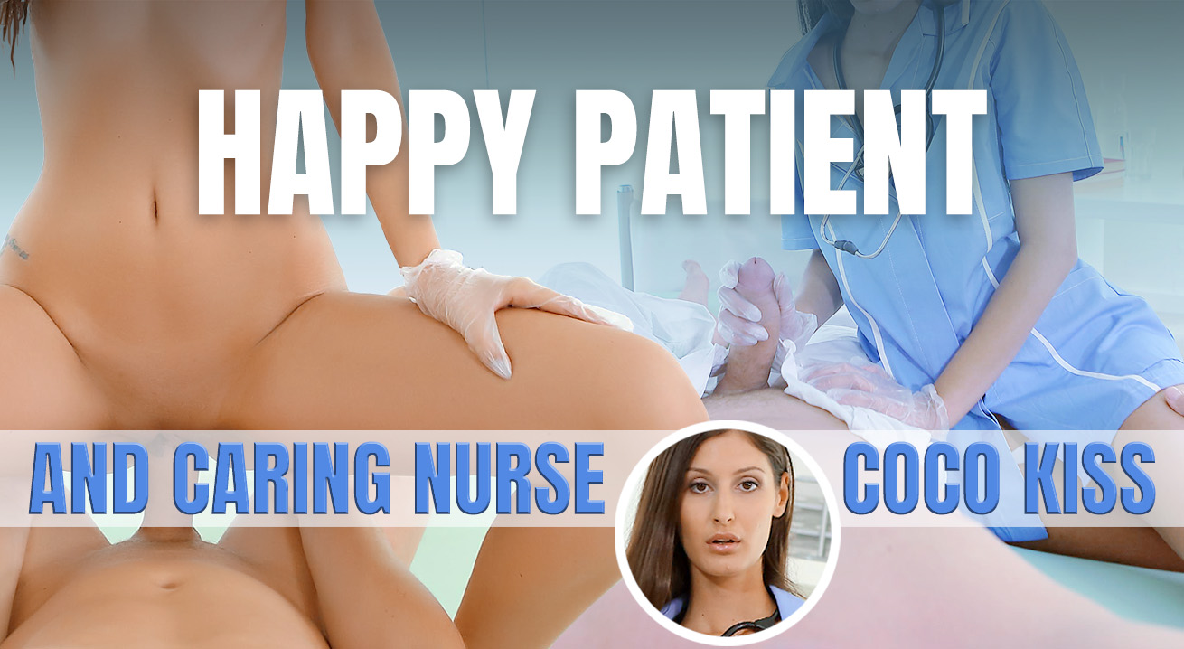 Sex Treatment From a Hot and Dominating Nurse