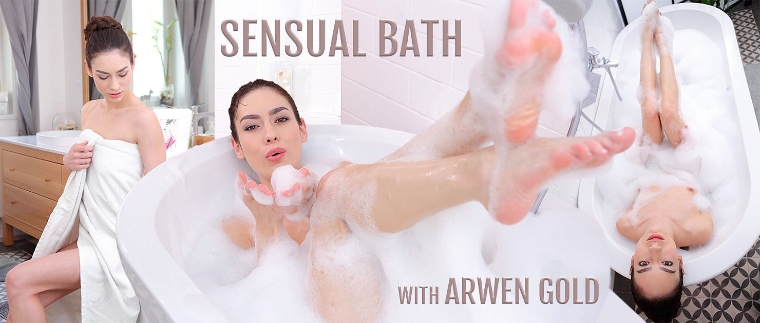 The Most Sensual Bath Solo by Arwen Gold in VR